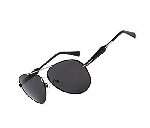 Eyewear de gafas polarizadas Moda Silver Gafas Hombres conducir FlowerKui protectoras Mujeres sol para de UV400 sol qH7WfgR