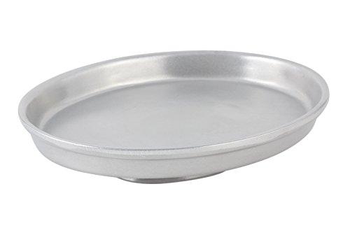 - Bon Chef 50695051PG Aluminum/Pewter Glo Pedestal Casserole, 12-3/4