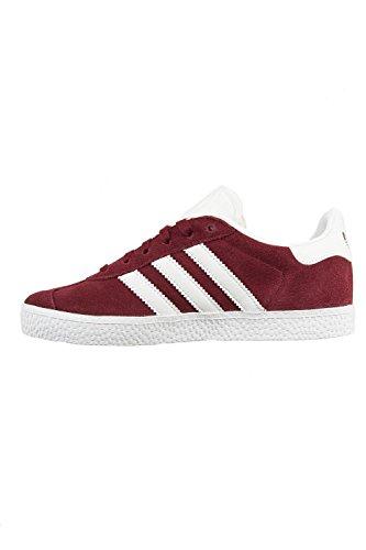 adidas Gazelle C, Zapatillas de Deporte Unisex Niños Rojo (Buruni/Ftwbla/Ftwbla 000)