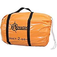 Novatek D1250 Duct-2-Go 12 x 50 Heavy Duct Vinyl with integrated carrying case