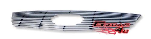 APS K66703A Polished Aluminum Billet Grille Bolt Over for select Kia Rio Models