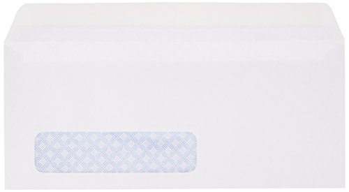 Review AmazonBasics #10 Security-Tinted Envelope,