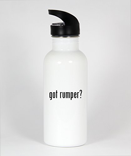 got rumper? - Funny Humor 20oz White Water Bottle