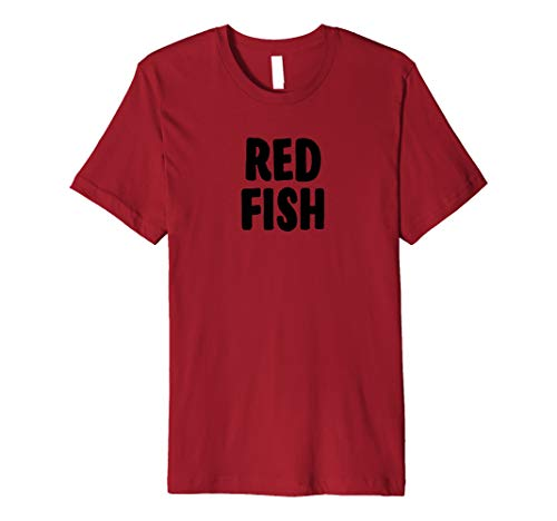 Red Fish Halloween Costume T-shirt Group Costume Idea -