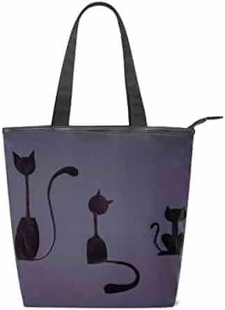 f2c4e01b2 Women's Handbags Canvas Shoulder Bags Personality Cat Handbag Retro Casual  Tote Purses