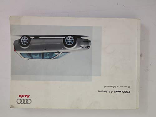 2005 audi a4 owners manual - 8