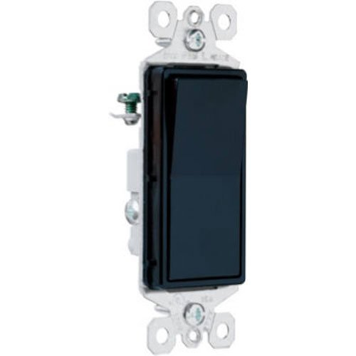 - Legrand - Pass & Seymour radiant TM873BKCC10 3-Way Rocker Wall Light Switch, Black