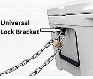 Amazoncom Ice Chestcooler Security Lock Bracket Fits Yeti And