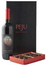 Peju Cabernet and Chocolates Gift Set, 1 x 750 mL