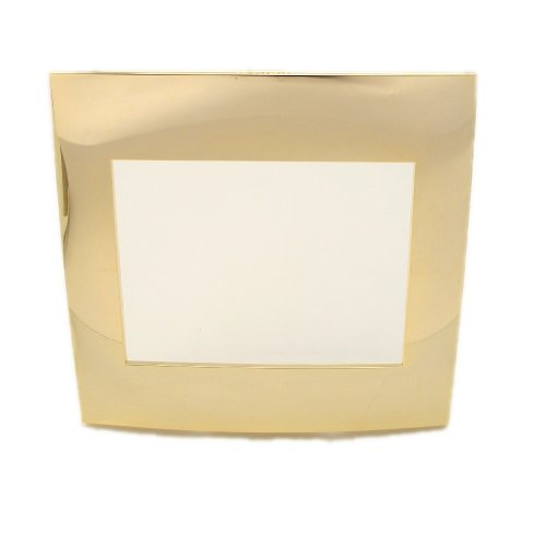 Leviton ACWM2-24K Acenti 2-Gang Wallplate And Alignment Plate, 24K Gold Plated