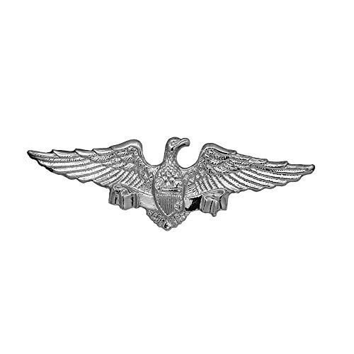 Royal Eagle Badge Gothic Punk Brooch Pin Mens Lapel Suit Wedding Jewelry