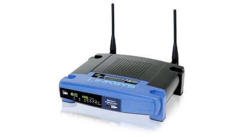 DD-WRT - Linksys WRT54GL Wireless G Router, WiFi Broadband Repeater Bridge 54 Mbps (DD-WRT Preinstalled)