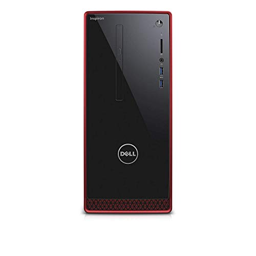 Newest Flagship Dell 2019 Inspiron 3650 Red Chassis Business Desktop Intel Quad-Core i5-6400 8GB/12GB/16GB RAM 256GB/512GB/1TB SSD 2TB HDD DVDRW 802.11bgn HDMI Bluetooth Windows 10 Professional