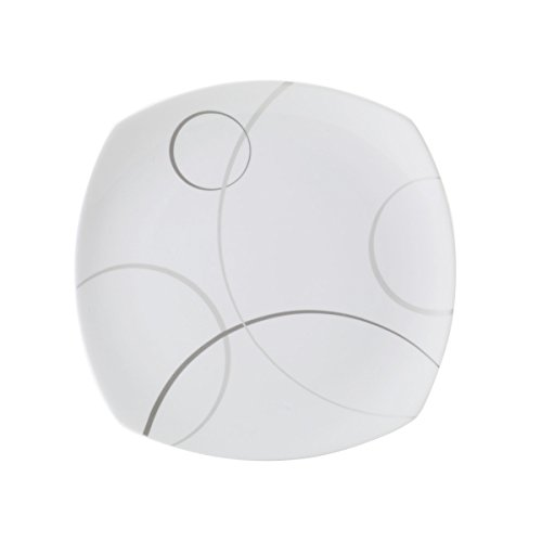 Mikasa Geometric Circles Serving Platter, 12-Inch