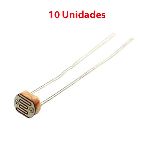 10X Photoresistor fotoresistor LDR Sensor Resistor Light-Dependent GL5516 5mm