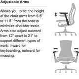 Herman Miller Embody Ergonomic Office Chair   Fully