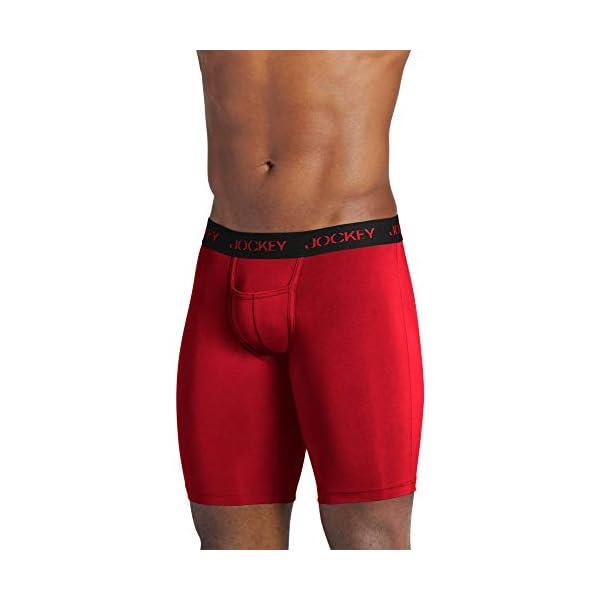 Jockey Men's Underwear Sport Microfiber Midway Brief