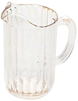 Rubbermaid Commercial Products Bouncer Pitchers - Rubbermaid Commercial Products FG333500CLR Bouncer Pitcher, 48 oz (Pack of 6)