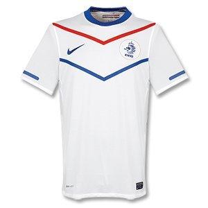 10-11 Holland Away Jersey-S (Netherlands Away Jersey)