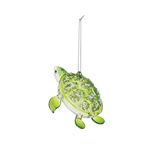 Westwood Products Holiday Ornament S-Hook Gift Box, Animals Collection (Turtle)