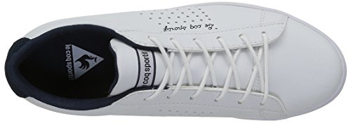 Feminine Basses Dress Femme Baskets Agate Blanc White Optical Lo Coq Sportif Le nxBfwa7px
