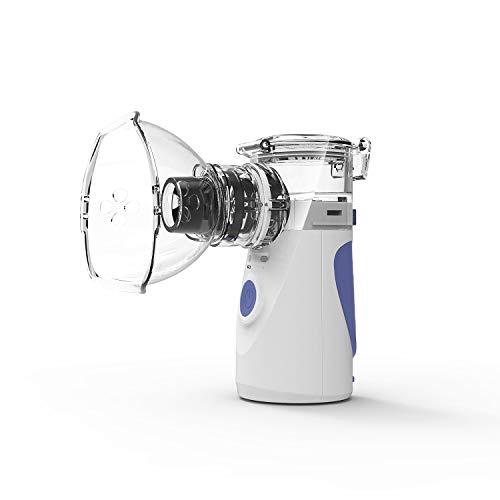Portable Home Inhaler with Innovative Mesh Technology, Mini Ultrasonic Steam Inhaler for Travel, Portable Cool Mist Inhaler Humidifier, Handheld Cordless Atomizer Inhaler (Inhaler)