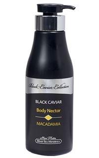 Mon Platin, DSM, Dead Sea Minerals, Black Caviar Body Nectar Macadamia, 17fl.oz/500ml