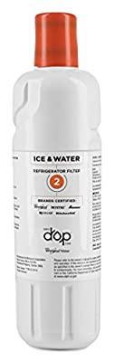 EveryDrop by Whirlpool Refrigerator Water Filter 2 (Pack of 1)
