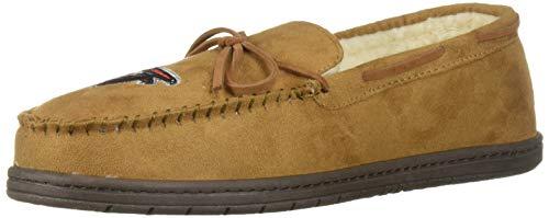 FOCO NFL Atlanta Falcons Football Team Logo Moccasin Slippers Shoes, Team Color, Medium/Size 9-10 ()