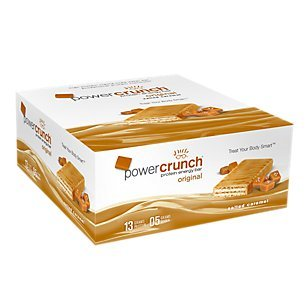 Bio Protein Bar - Bionutritional Research Group Power Crunch Salted Caramel, 12 Count