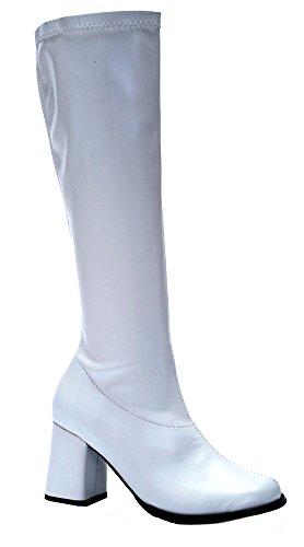 Go-go Boots Sz7 Costume Accessorio