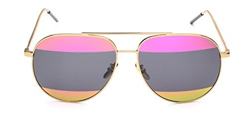 GAMT Cool Retro Metal Frame Pilot Style Aviator Sunglass for Men and Women (C7, - Aviators Bans Ray Fake