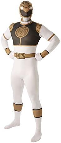 Rubies - Disfraz para Adulto, diseño de Power Ranger Blanco ...