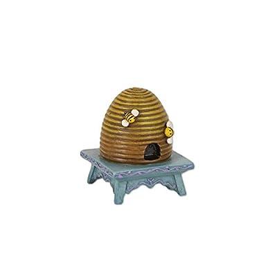 Mini Beehive on Stool : Garden & Outdoor