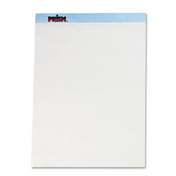 TOPS Products - TOPS - Prism+ Quadrille Perforated Pads, 8-1/2 X 11-3/4, Blue, 50 Sheets/Pads, 12/Pack - Sold As 1 Pack - Letr-Trim perforation leaves clean, smooth edge. - 16-lb. paper weight. - by TOPS