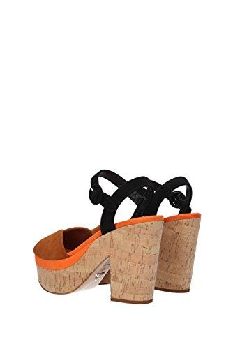 Sandalen Prada Damen - Wildleder (1XZ519) EU Braun