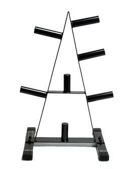 CAP Barbell Olympic 2-Inch Plate Rack Pack of 4 by CAP Barbell