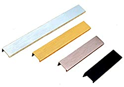 "KFZ Furniture Cabinet Handle Drawer Pull Door Knobs DJH8850 Long Gate Handles Aluminum Alloy 13.86"" Hole Center - 15.75"" Length"