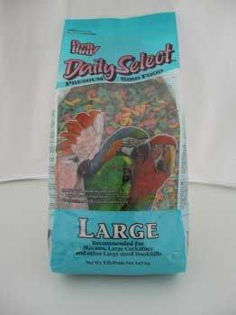 Pretty Bird International BPB78118 8-Pound Daily Select Premium Bird Food, Large