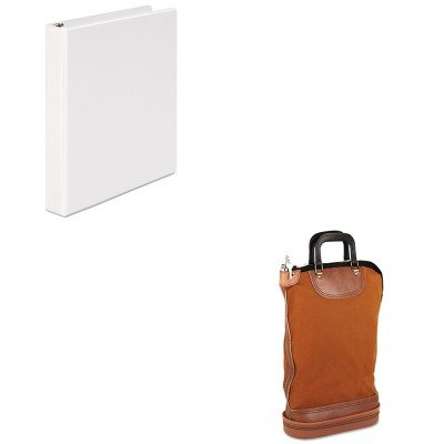 KITPMC04644UNV20962 - Value Kit - Pm Company Regulation Post Office Security Mail Bag (PMC04644) and Universal Round Ring Economy Vinyl View Binder (UNV20962) ()