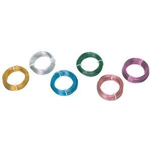 (業務用20セット) SNZ カラーアルミ線 ブルー2.5mmφ 2314-770   B07PF8JRSF