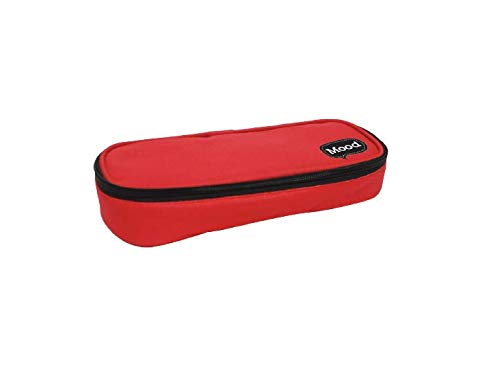 Diakakis 000580095 Square Pencil Case Red Mood Victory, Multicolore