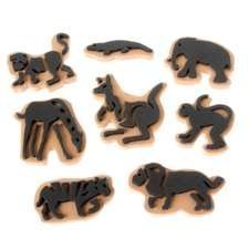 Jumbo Ink Wild Animal Stampers (Chunky Foam Stamp)