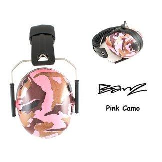 Baby Banz earBanZ Kids Hearing Protection, Camo Pink