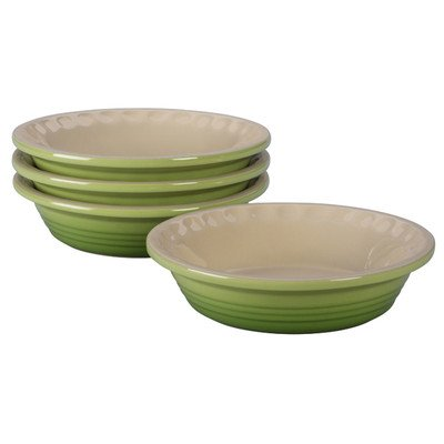 Petite Heritage Pie Dish (Set of 4) Color: Palm