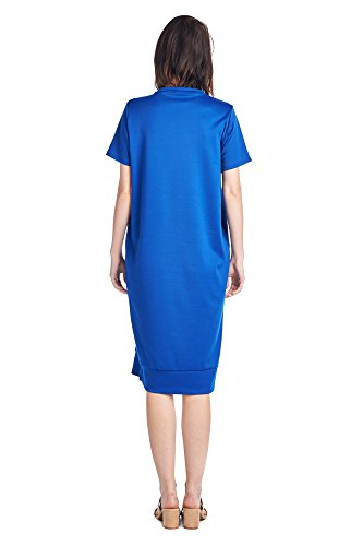 82 Mid Dresses Days Blue Styles Royal 1 Various Long Comfortable Women's Jersey 8rqY8dw
