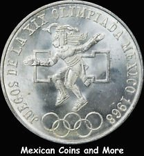 - Brilliant Uncirculated Mexico 1968 25 Peso Olympics