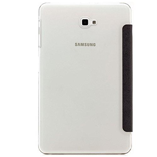 Saxonia Samsung Galaxy Tab A 10.1 Funda Case Slim Smart Protección Cover Motivo Las chancletas Motivo Dont Touch