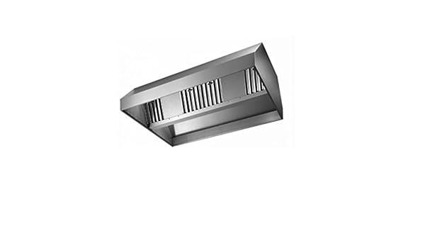 Campana de aspiración acero inoxidable Central con motor – Dimensiones cm. 220 x 150 x 45h: Amazon.es: Hogar