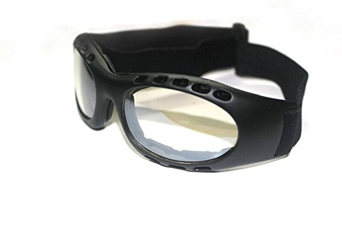 32a9608868c1 Buy Bikestuff B-Eg15 Riding and Sports Goggles (Black) Online at Low Prices  in India - Amazon.in
